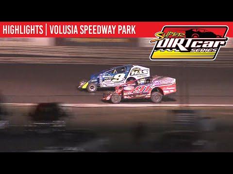 Super DIRTcar Series Big Block Modifieds Volusia Speedway Park February 14th, 2020 | HIGHLIGHTS
