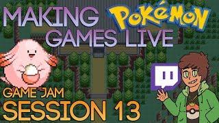 Making Pokemon Games Live (Game Jam Session 13)