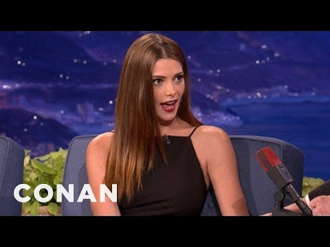 Ashley Greene: Olivia Wilde Is A Good Kisser  CONAN on TBS