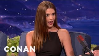 Ashley Greene: Olivia Wilde Is A Good Kisser - CONAN on TBS