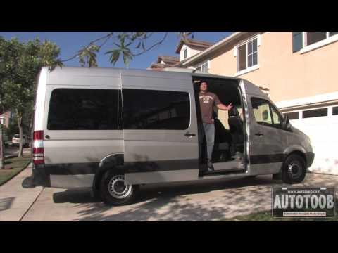 Review of 2009 Dodge Sprinter Passenger Van