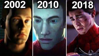 Evolution of Peter Parker in SPIDER-MAN Games (2000 - 2018)