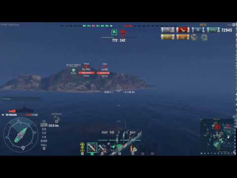 MAHAN - World of Warships : Liquidator | 4 Kills