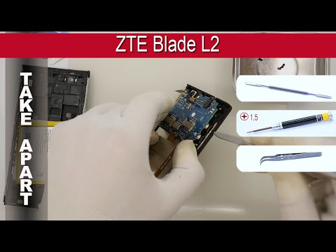 How to disassemble 📱 ZTE Blade L2 Take apart Tutorial