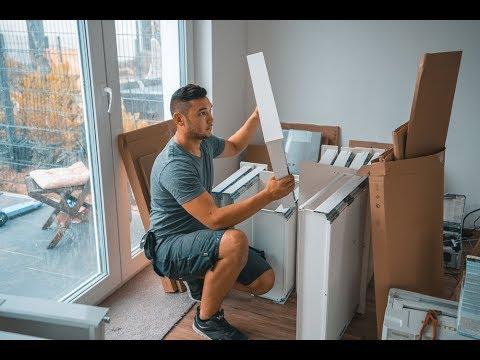 ikea k che selber aufbauen oder nicht das musst du vorher wissen youtube. Black Bedroom Furniture Sets. Home Design Ideas