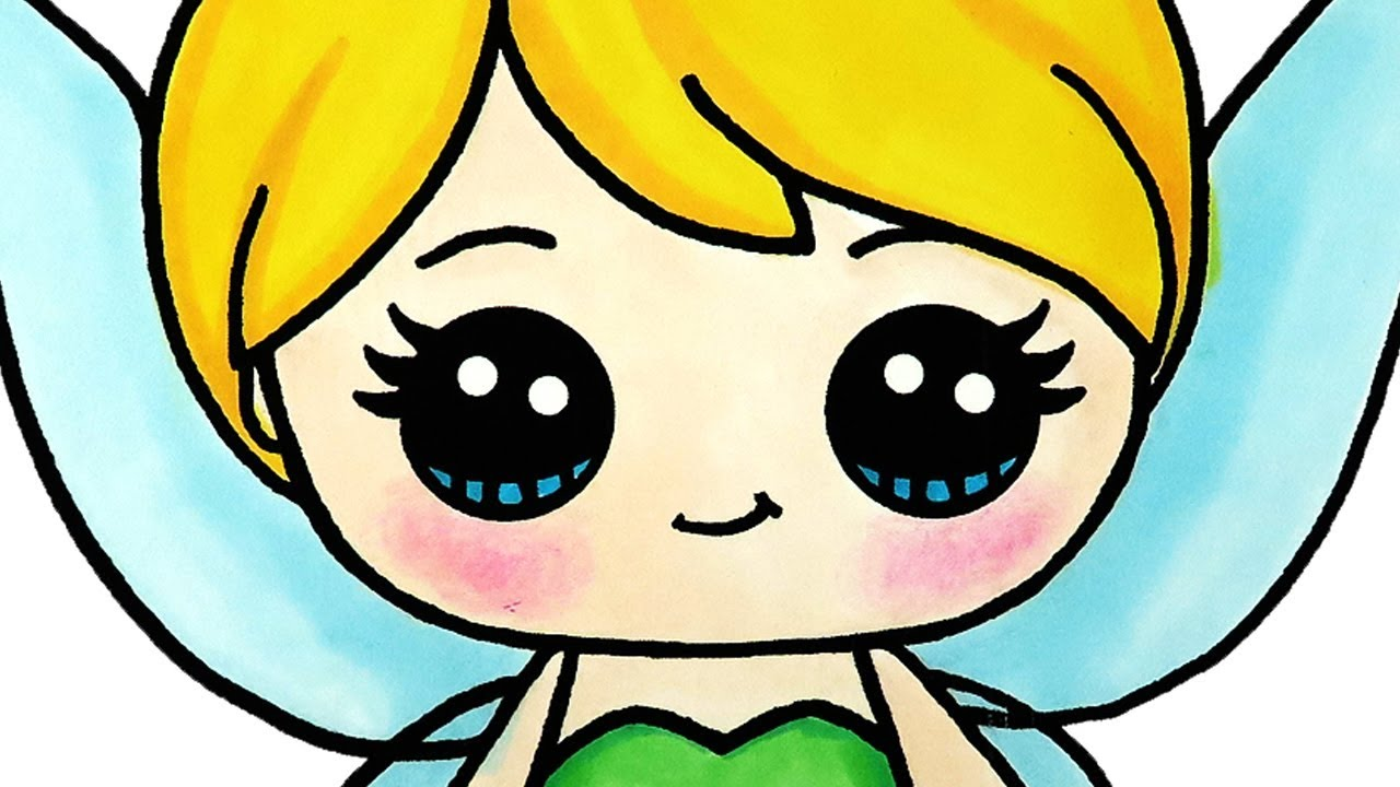 Tinkerbell Coloring Pages for Kids | Learn Colors - YouTube