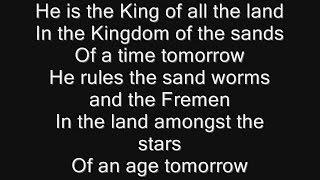 Iron Maiden - To Tame A Land Lyrics