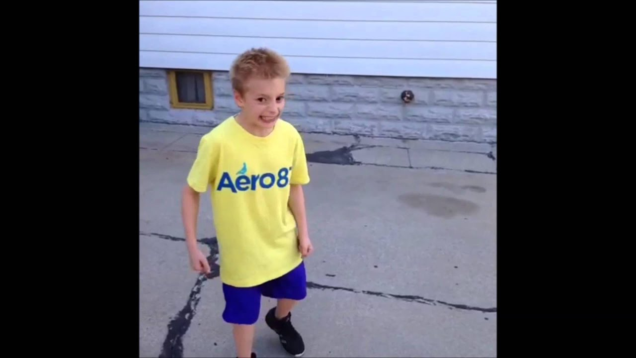Little Kid Gets Hit In The Head With Basketball