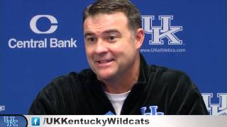 Kentucky Wildcats TV: Coach Mitchell Pre-Delaware State Press Conference