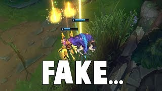 Here's The Perfect Example of FAKING JUNGLE GANK.... | Funny LoL Series #424