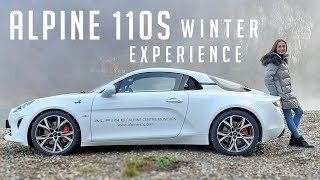 Winter Ride with the Alpine A110S