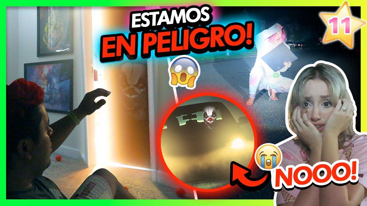 UN PAYASO ASESINO EN LA ANGEL's HOUSE?!!!!😱 ATRAPADOS Y EN PELIGRO!!⚠️ | CAP 11 TEAM ANGEL