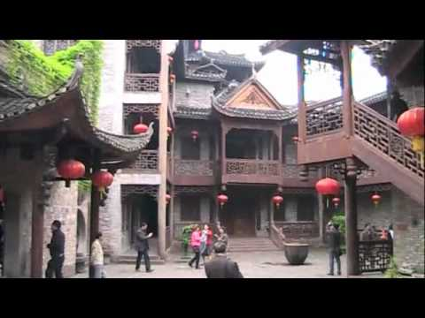 The Ancient Buildings in Fenhuang (Phoenix Town), China