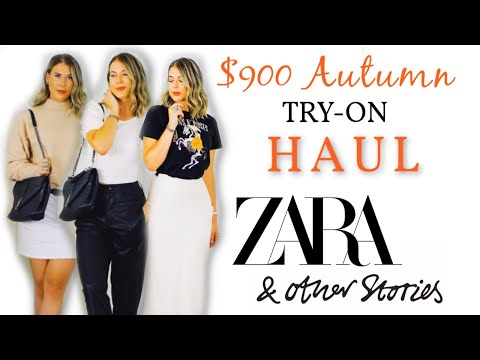 HUGE *NEW IN* FALL HAUL 2019 | ZARA, TOPSHOP, &OTHER STORIES