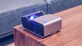【轻电科技】小户型的大影院 LG短焦投影仪PH450开箱上手丨LG PH450 Review