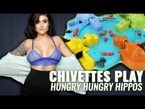 Chivettes play Hungry Hungry Hippos (VR)