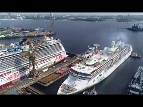BIG SHIP CONVERSION OF SUPERSTAR TO EXPLORER DREAM #CARDOCK