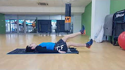 Как похудеть за 21 день (Упражнения) - Махи ногами лежа