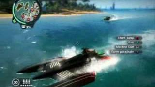 Just Cause 2 Boats & Bombs