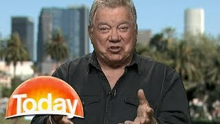 William Shatner on his feud with Leonard Nimoy | TODAY Show Australia