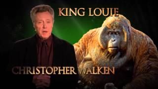 Christopher Walken is King Louie - Disney's The Jungle Book