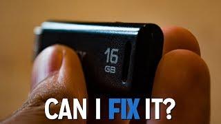 Broken USB Flash Drive - Can I Fix It?
