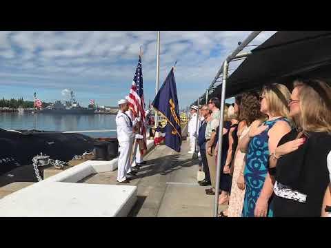 COMSUBPAC U.S. Pacific Fleet Change Of Command
