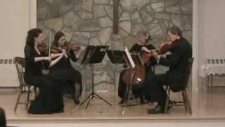 Beethoven String Quartet Opus 18 No. 4 - IV. Allegro prestissimo-Serata Quartet