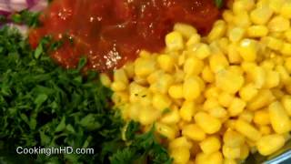Sweet Corn And Avocado Salad