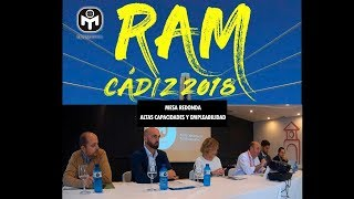 Mesa Redonda AACC y Empleabilidad   Mesa redonda RAM 2018   Mensa España