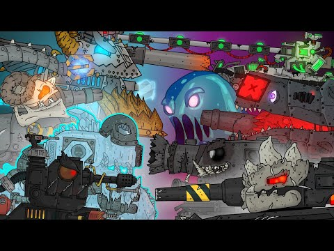 Все серии : Гладиаторские бои Демонических монстров - Мультики про танки