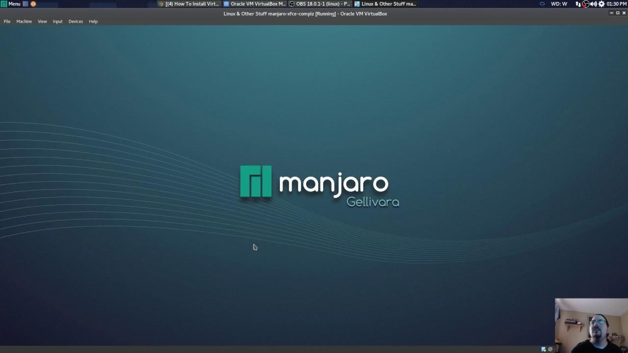How to install virtualbox in manjaro