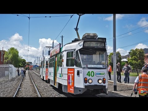 Ruby Jubilee Tour - 40 years of the Z Class - Yarra Trams (Part 2)