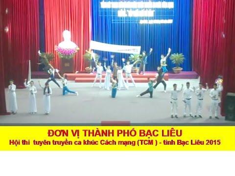 Đơn vị Thành Phố Bạc Liêu - Hội thi TCM tỉnh Bạc Liêu năm 2015