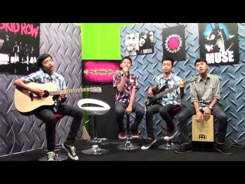 Star Project (Band Pelajar Sby), live @Surabaya TV, treasure (bruno mars, acoustic version)