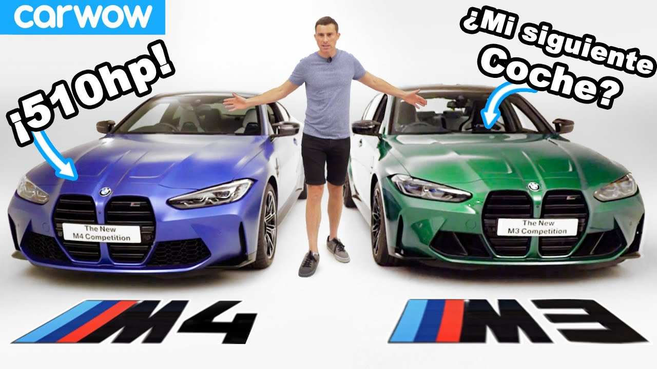 ¿Por qué quiero un nuevo BMW M4 o M3? - prueba de línea roja de revoluciones + 'reseña'