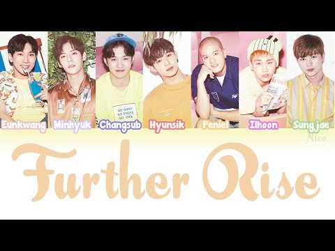 BTOB (비투비) - FURTHER RISE Lyrics (Color Coded/ENG/ROM/JPN)