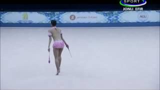 Download Video Nabila Evandestiera (INA) Gada Senam Ritmik Kejuaraan Dunia Tashkent 2017 MP3 3GP MP4