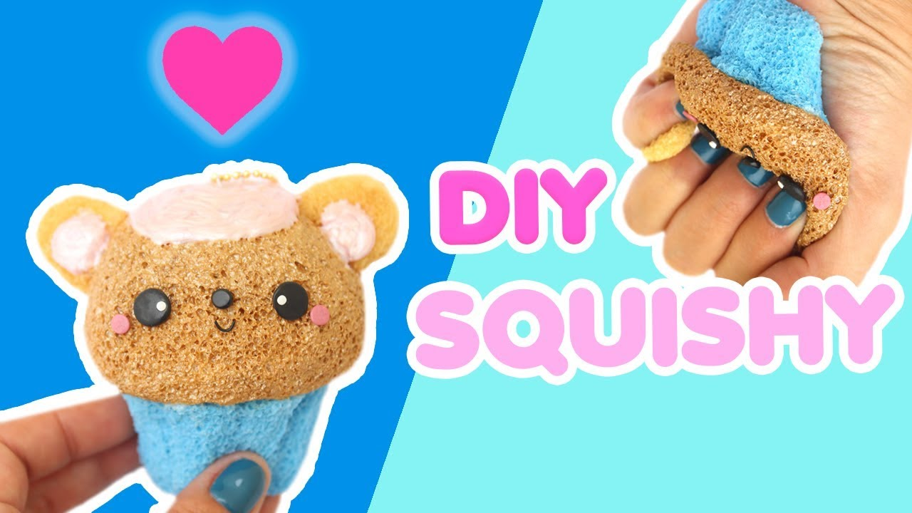 Squishy En Espanol : DIY BEAR CUPCAKE SQUISHY - YouTube