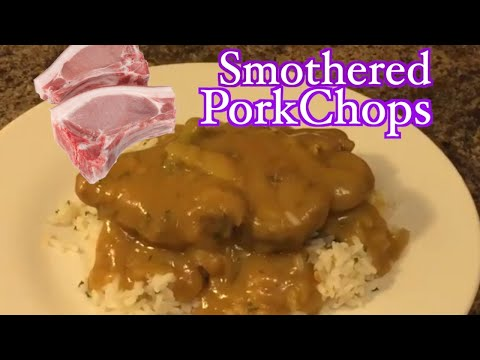 DELICIOUS How To Make Smothered PorkChops