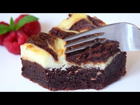 Cheesecake Brownies Recipe | How Tasty Channel
