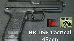 HK USP Tactical 45 Pistol