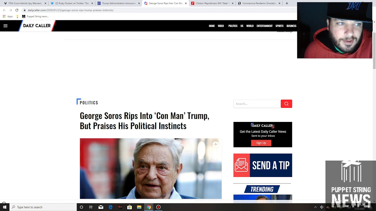 FISA warrants used were invalid, Soros suffers from TDS, Top Democrats sell their offices - Puppet S