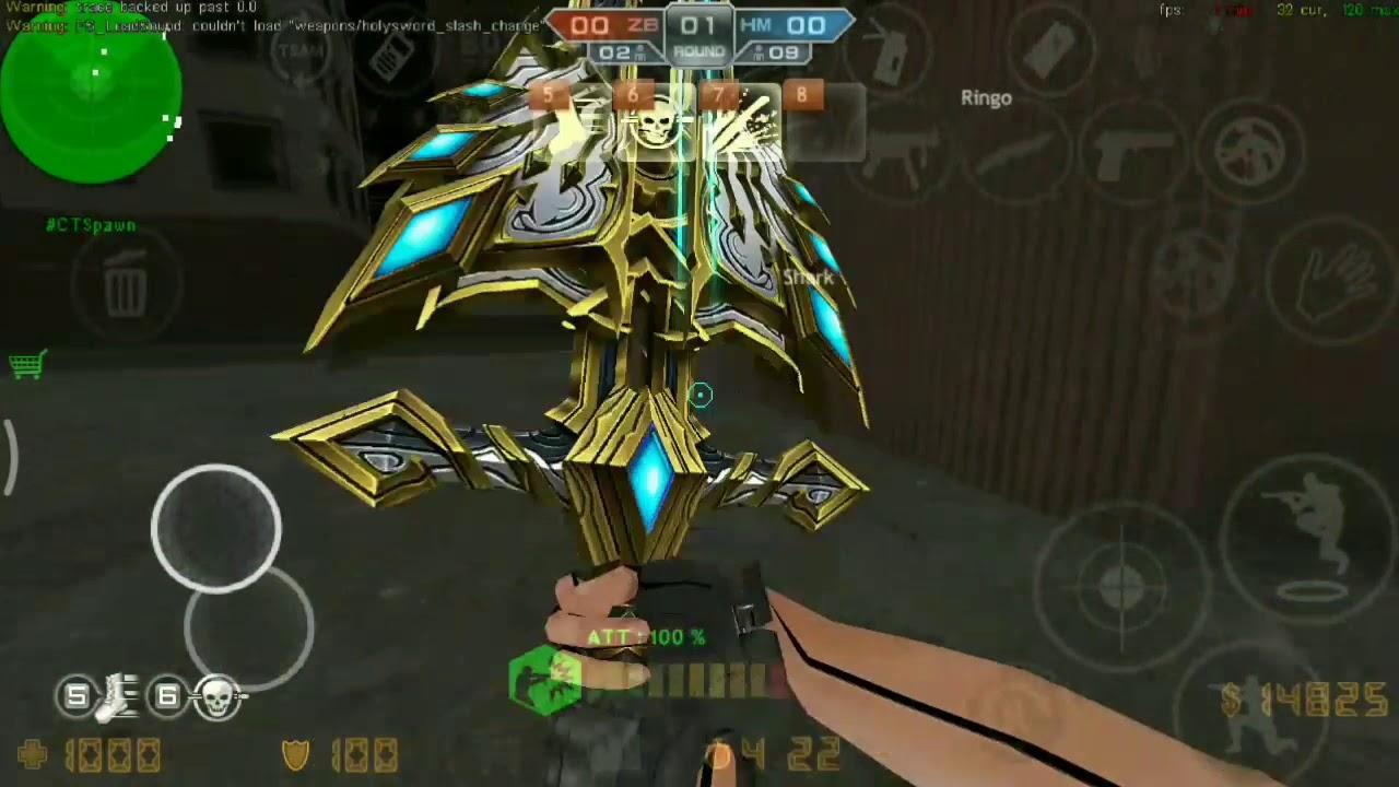 KFV5| update: hero chainsaw, cso katana, holy sword heaven,    (link  download)