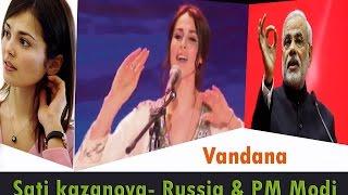 Sati Kazanova: A Russian love to India