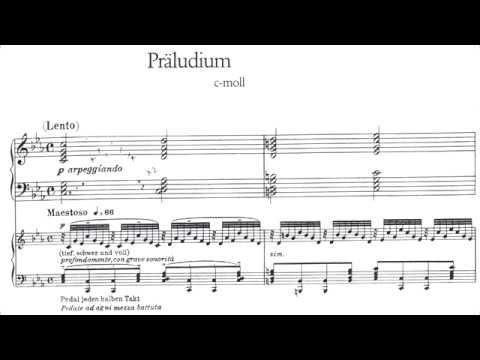 Cyprien Katsaris  Bach: Prelude tasia in C minor, BWV 921