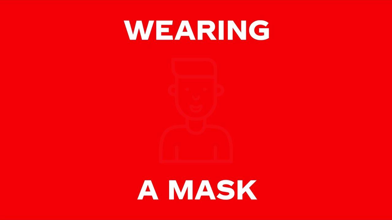 Stay Safe: Wear a mask