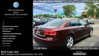 Used 2014 Volkswagen Passat | Rite Cars, Inc, Lindenhurst, NY