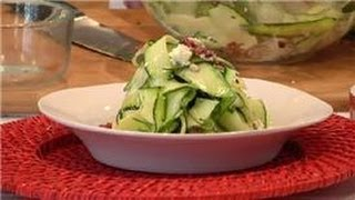 From Garden To Table : Raw Zucchini Salad