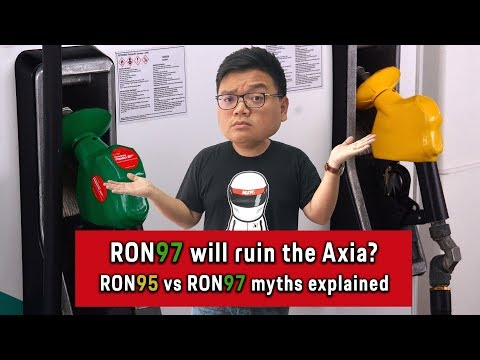 Ron97 Is Only For Big Engines And Can Damage The Axia S Engine Ron95 Vs Ron97 Myths Explained Youtube